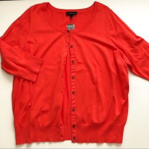 NWT Lane Bryant 3/4 sleeve cardigan